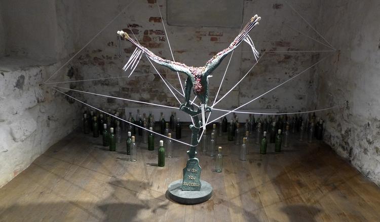 'Birds II', ett konstverk av Carlos Capelán