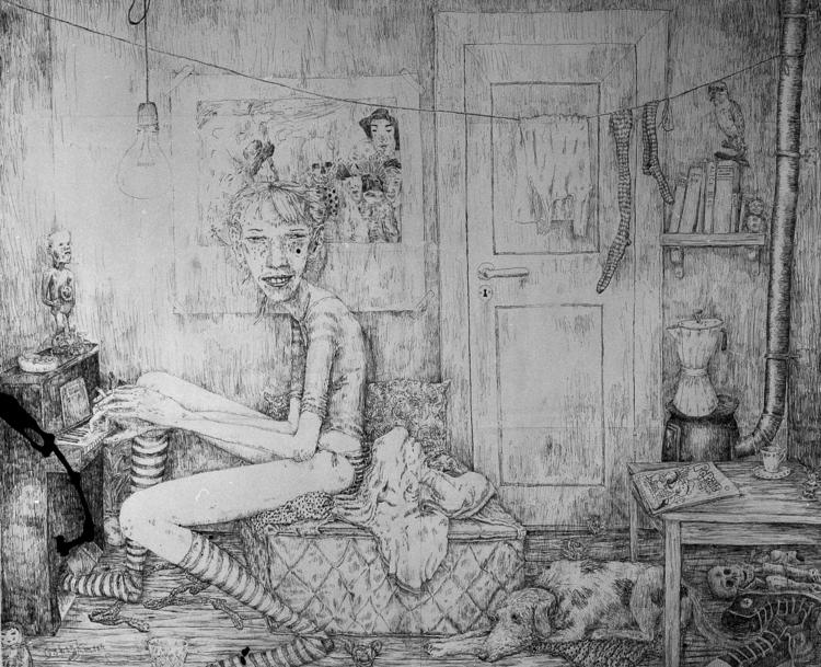 'Untitled', ett konstverk av Oskar Korsár