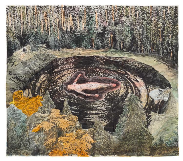 'Delta', ett konstverk av Love Lundell