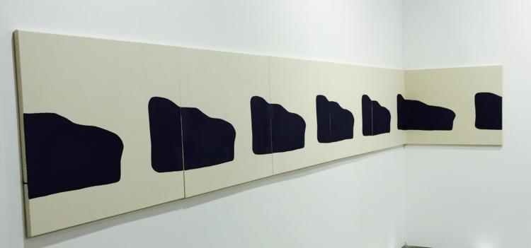 'Installation view', ett konstverk av Landon Metz