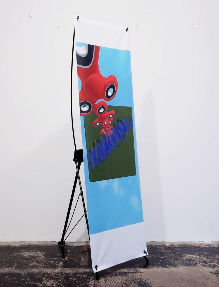 'Taurine Mutagen', 2017, ett konstverk av James Ferraro