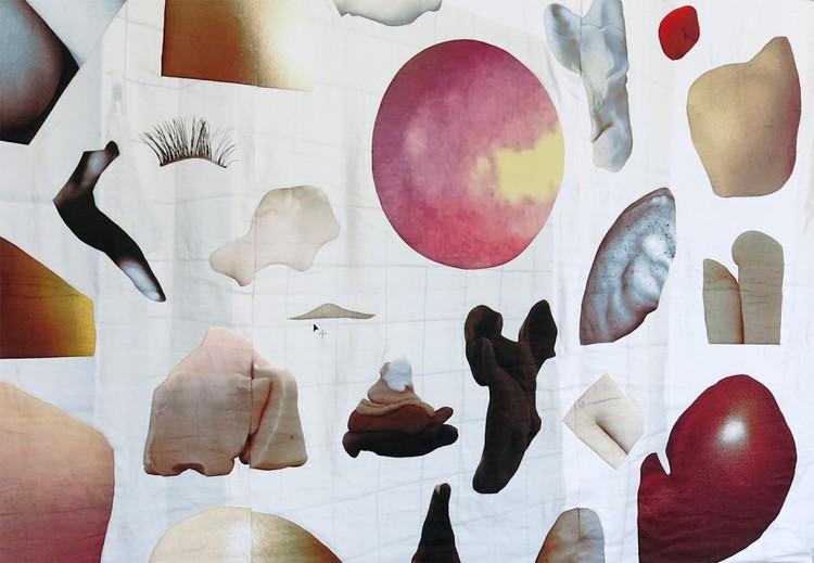 'Docile Bodies (detail)', 2016, ett konstverk av Josefin Askfelt