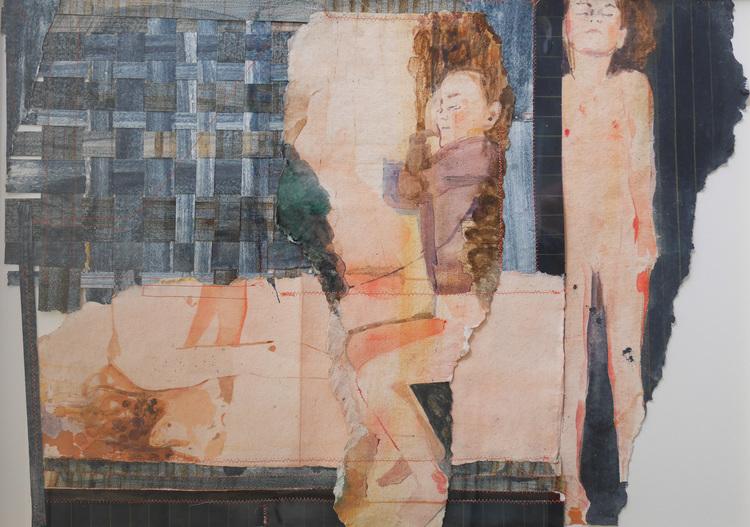 'Vilan II', 2017, ett konstverk av Britta Kjellgren Jäger