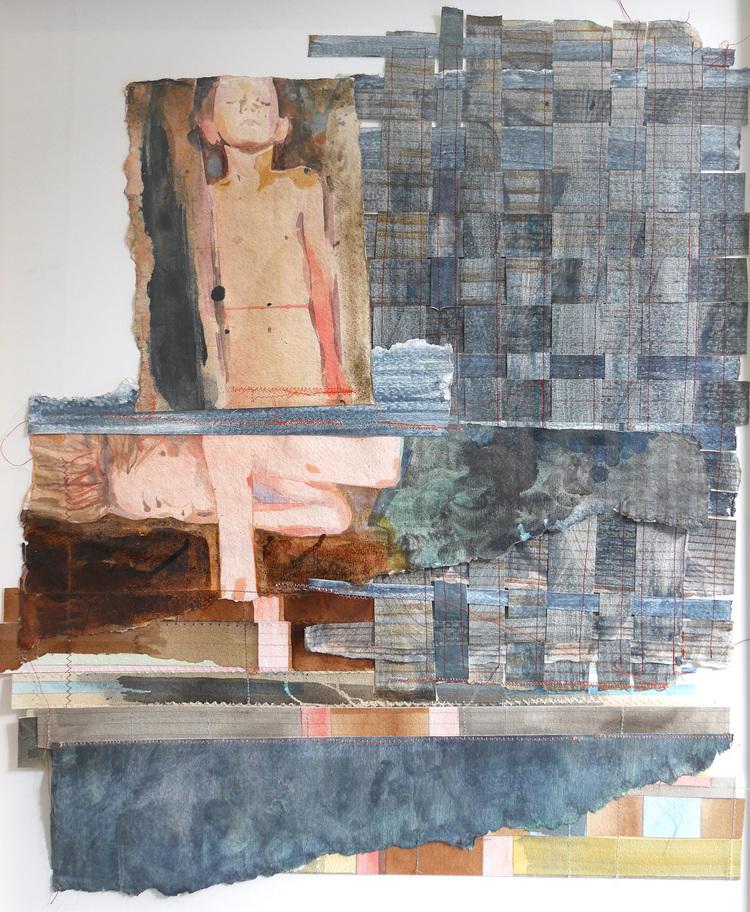 'Vilan I', 2017, ett konstverk av Britta Kjellgren Jäger