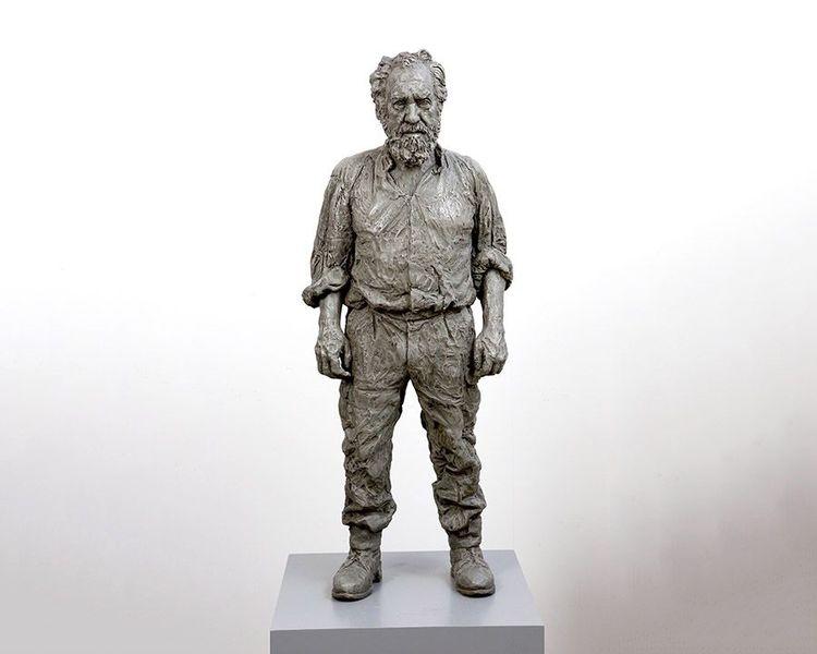 'Standing Man', 2016, ett konstverk av Sean Henry