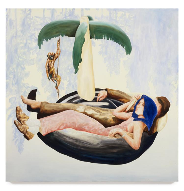 'Energy Slaves', 2017, ett konstverk av Love Lundell