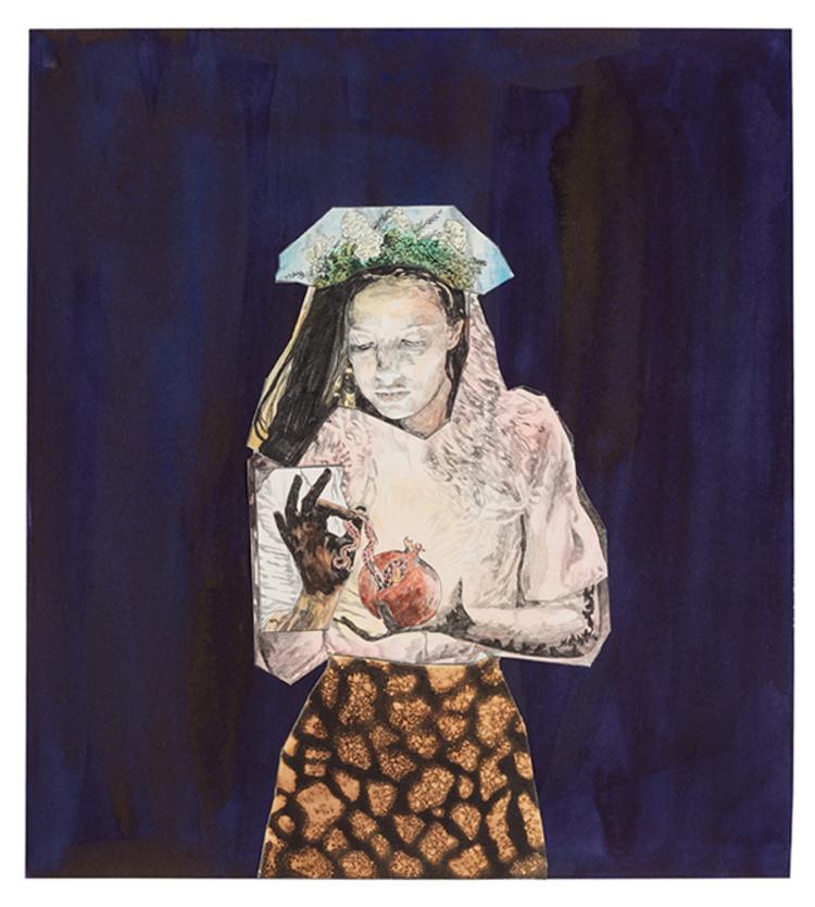 'Mono', 2017, ett konstverk av Love Lundell