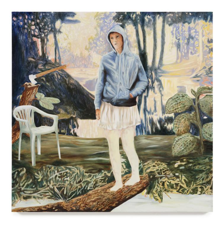 'Acid Flashback', 2017, ett konstverk av Love Lundell