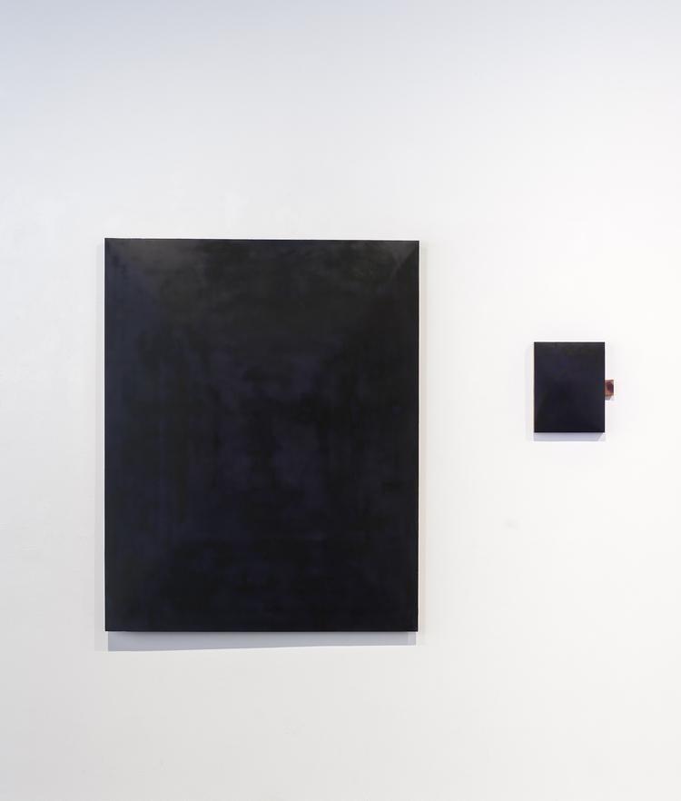 'Ingenting (Diptych)', 2017, ett konstverk av Mats Bergquist