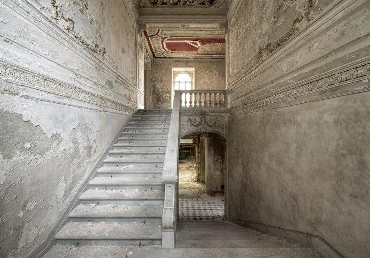 'Stairs of memories', ett konstverk av Daan Oude Elferink