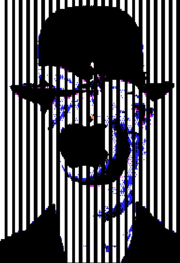 'Magritte', 1983, ett konstverk av Charlotte Johannesson