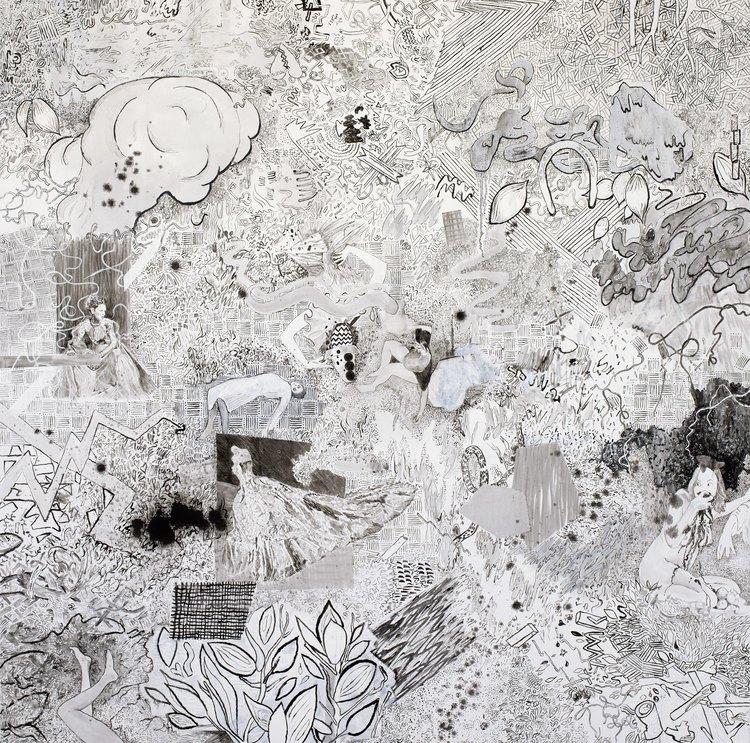 'Undergrowth', 2017, ett konstverk av Sofie Josefsson