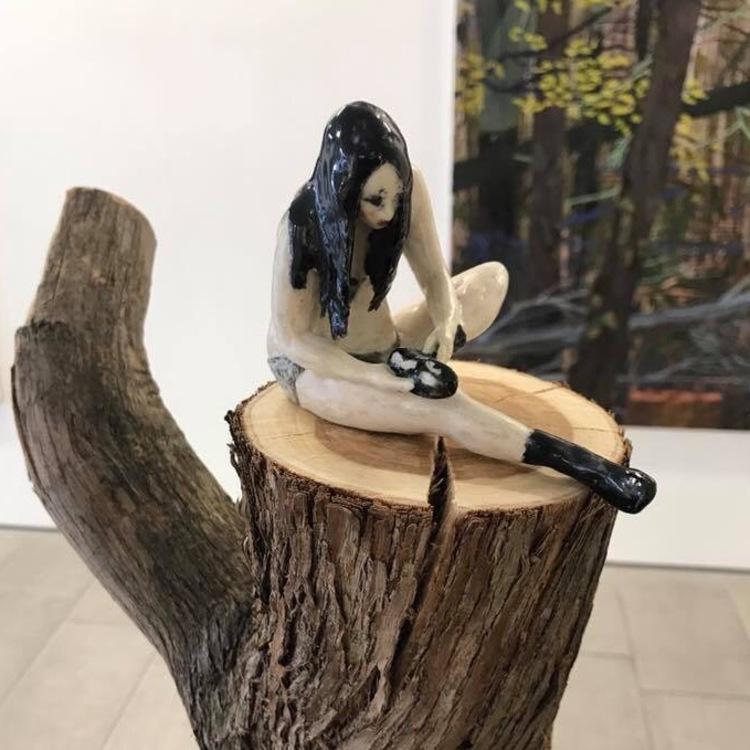 'Skriet', 2017, ett konstverk av Sofie Josefsson