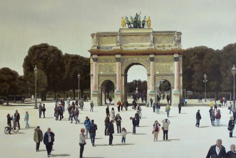 'Perfect Progressive', 2017, ett konstverk av Rodion Petroff