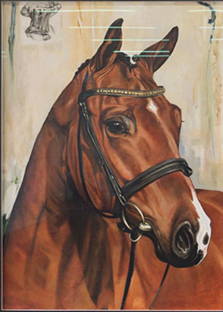 'Horse', ett konstverk av Troels Carlsen