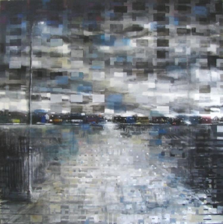 'Sub 231', 2017, ett konstverk av Anders Moseholm