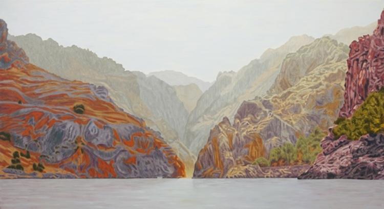 'Entrance', 2017, ett konstverk av Pelle Perlefelt