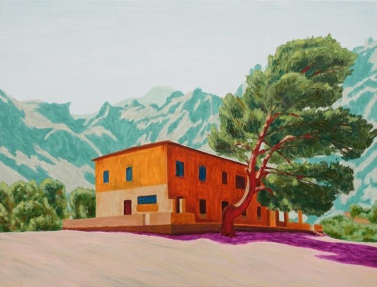 'The House in Tuent', 2017, ett konstverk av Pelle Perlefelt