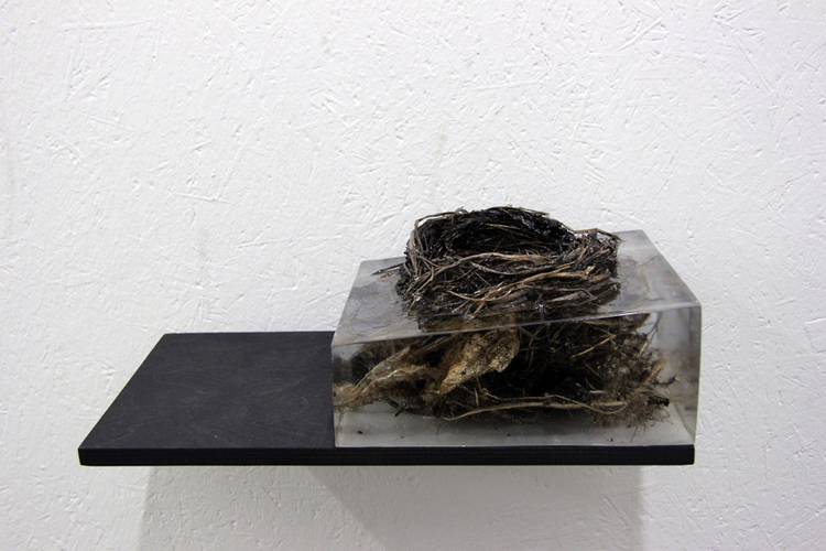 'Bo', 2017, ett konstverk av Klas Hällerstrand
