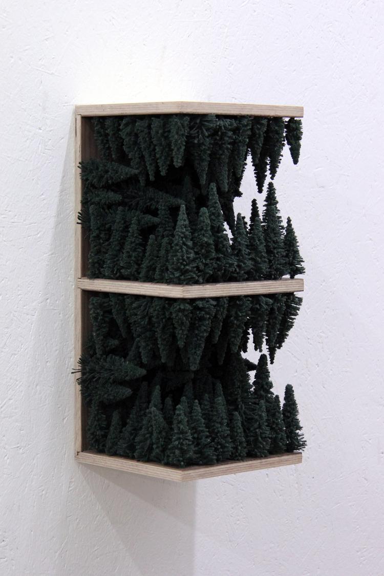 'Mark', 2017, ett konstverk av Klas Hällerstrand