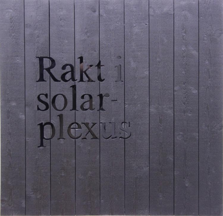 'Solarplexus', 2017, ett konstverk av Klas Hällerstrand