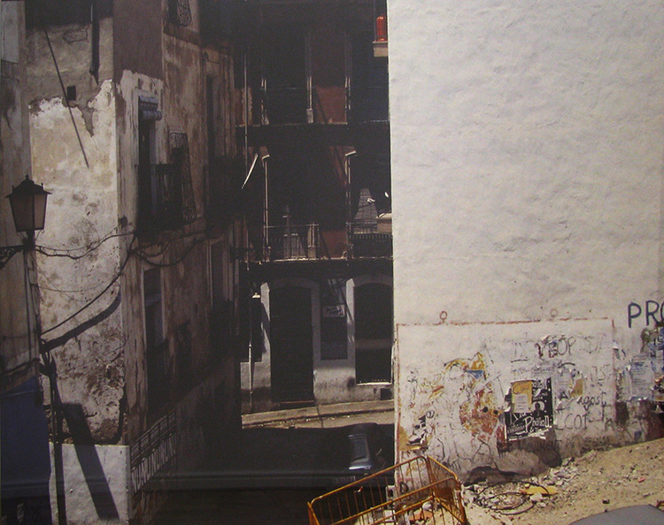 'Alicante, Barrio Viejo', 1990, ett konstverk av Ola Billgren