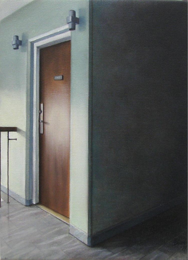 'Grannen till höger', 2017, ett konstverk av Anette Björk Swensson