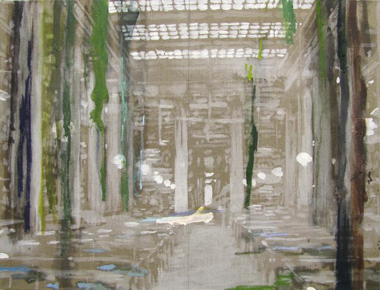 'Room for poetry', 2017, ett konstverk av Karen Gabel Madsen