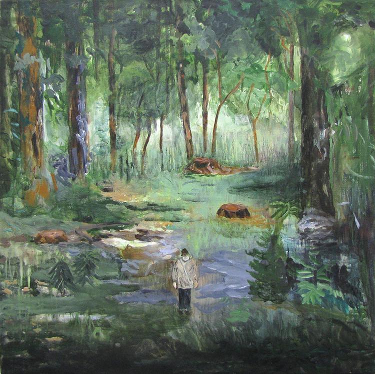 'Små Drömmar', 2017, ett konstverk av Helmtrud Nyström