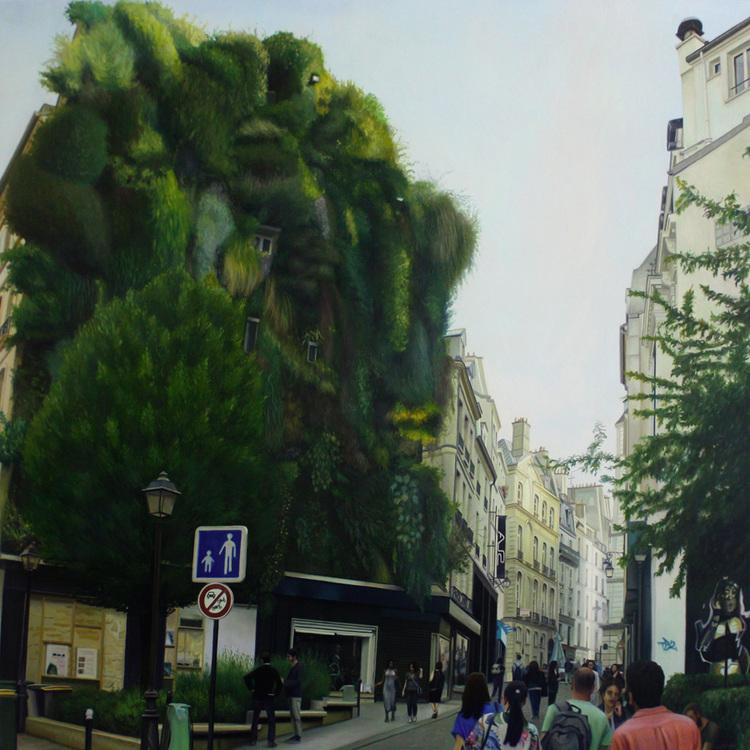 'Petits Carreaux', 2017, ett konstverk av Rodion Petroff