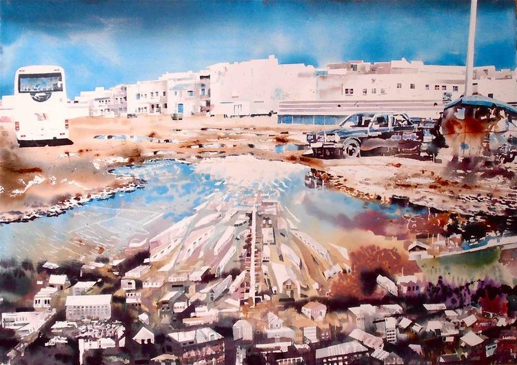 'Essaouira', ett konstverk av Erik Hårdstedt
