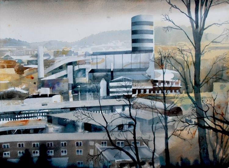 'Rya åsar', ett konstverk av Erik Hårdstedt