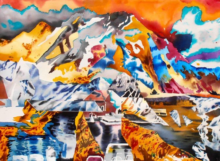 'Untitled', ett konstverk av Erik Hårdstedt