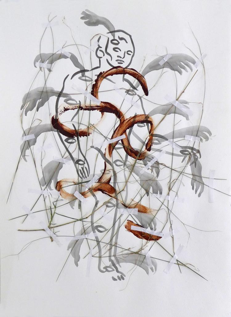 'Förmedlande resurser', 2017, ett konstverk av Carlos Capelán