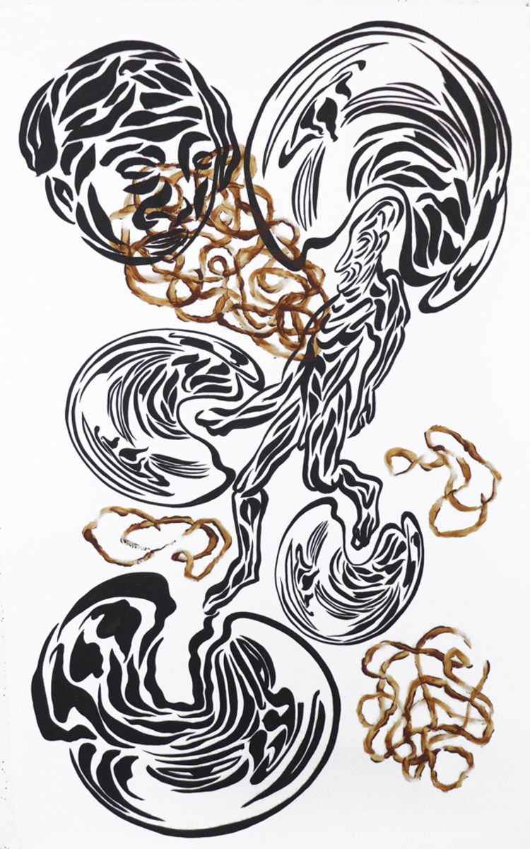 'Nulla dies sine linea', 2017, ett konstverk av Carlos Capelán
