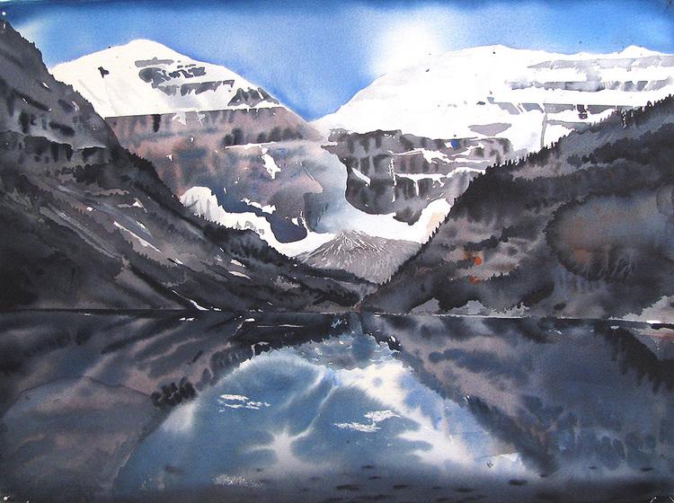 'Spegling', 2017, ett konstverk av Erik Hårdstedt