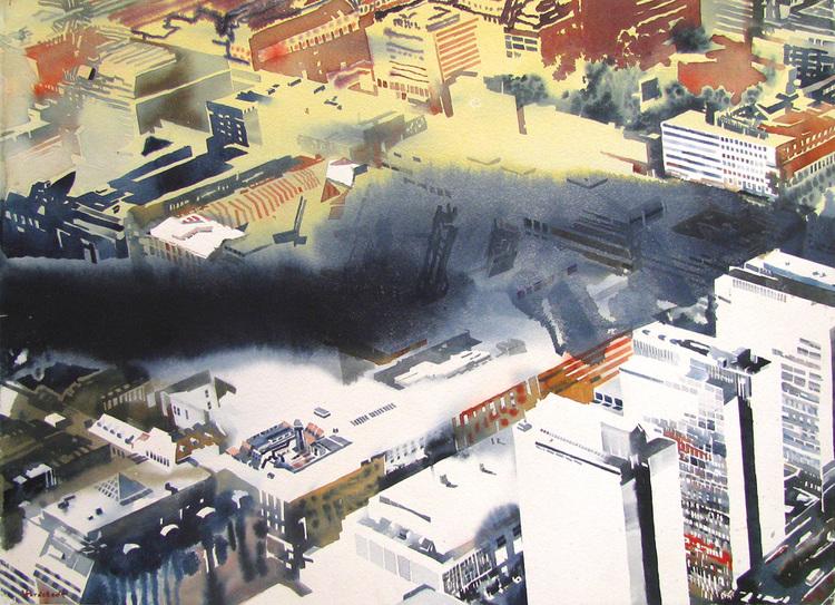 'Stockholm', 2008, ett konstverk av Erik Hårdstedt
