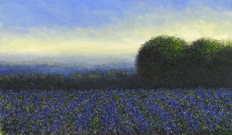 'Heliotrope', 2018, ett konstverk av John Stockwell