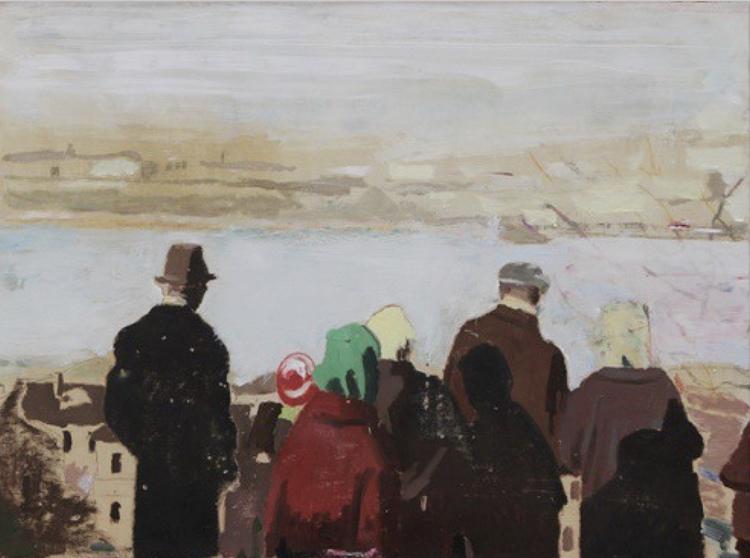 'River', ett konstverk av Jan-Albert Carlsson