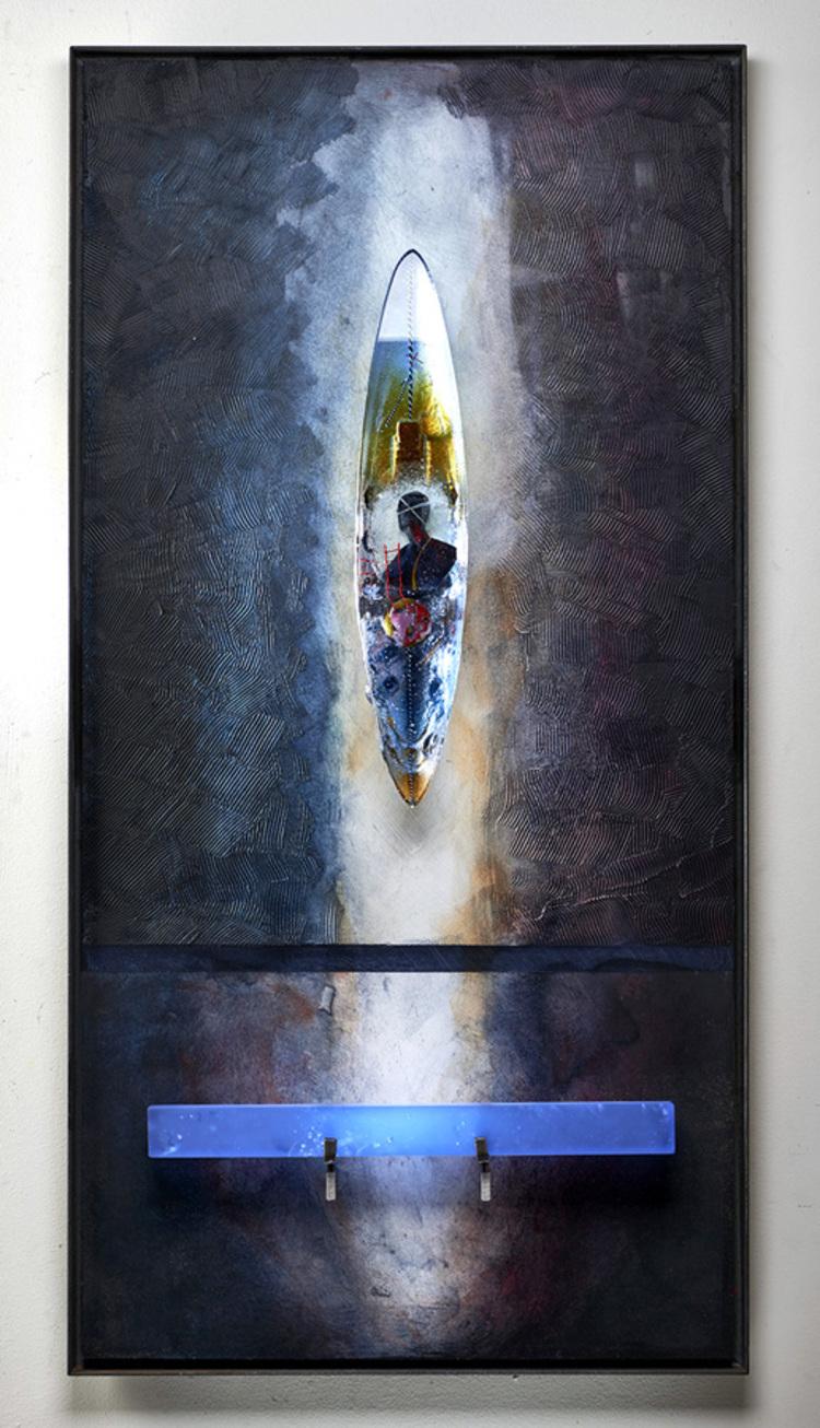 'Mirage', 2018, ett konstverk av Bertil Vallien