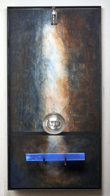 'Horizon', 2018, ett konstverk av Bertil Vallien