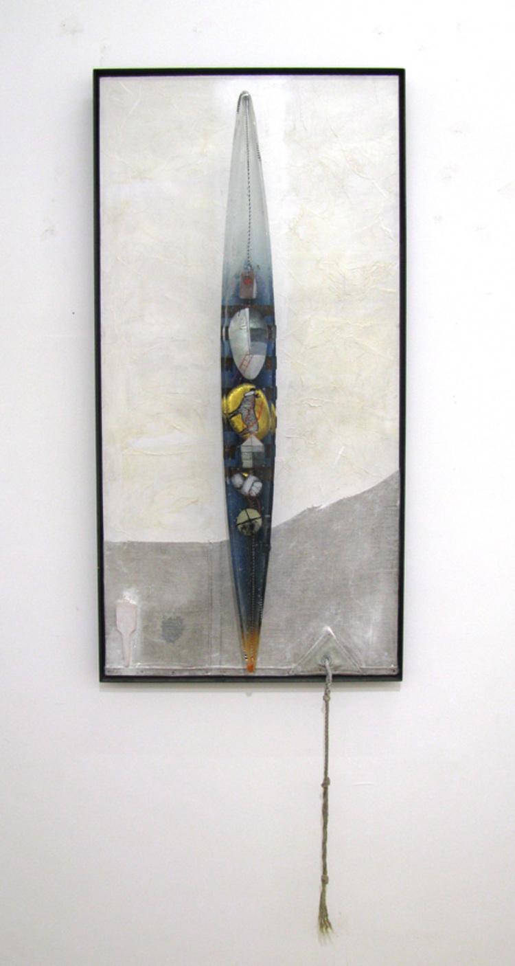 'Accent', 2018, ett konstverk av Bertil Vallien