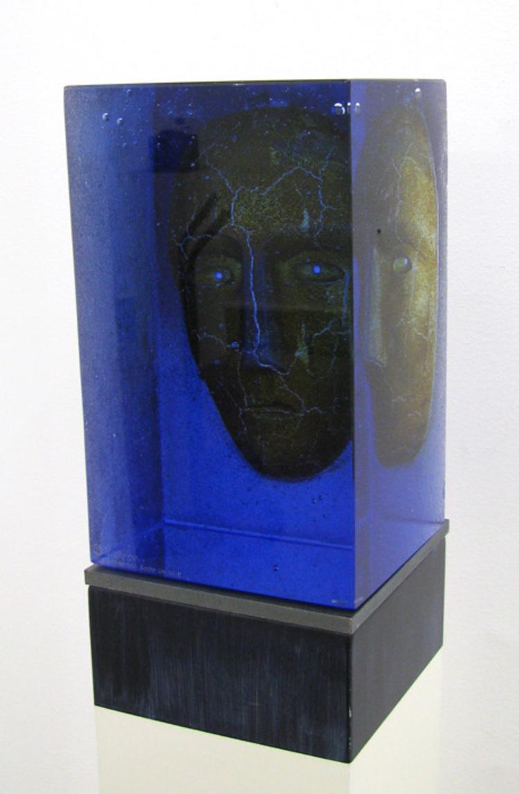 'Blues', 2018, ett konstverk av Bertil Vallien