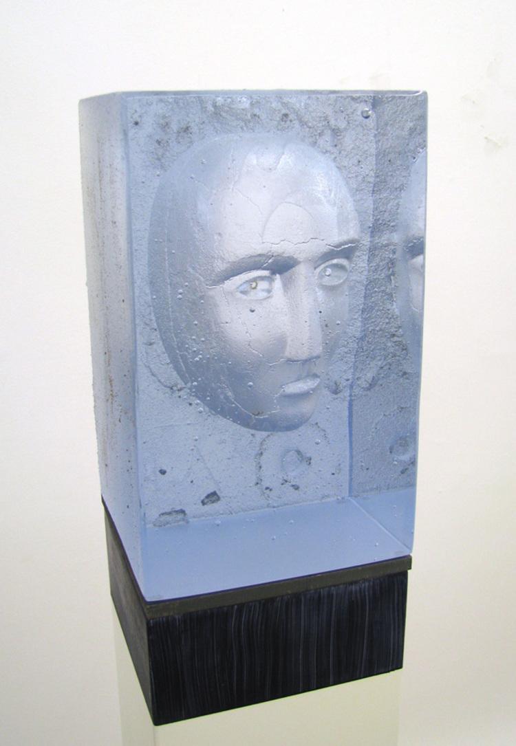 'Head IV', 2018, ett konstverk av Bertil Vallien