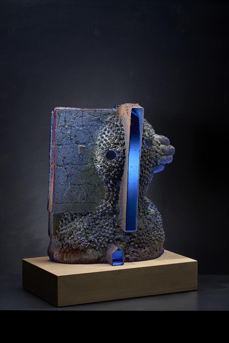 'Gap I', 2018, ett konstverk av Bertil Vallien