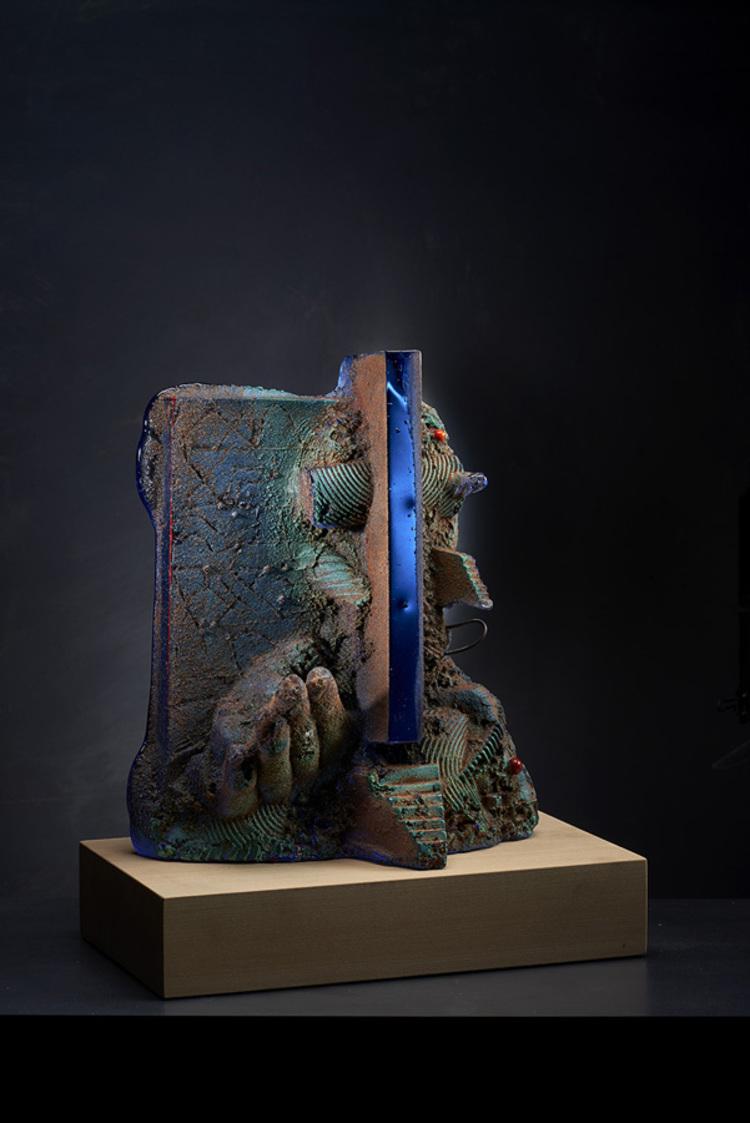 'Gap II', 2018, ett konstverk av Bertil Vallien