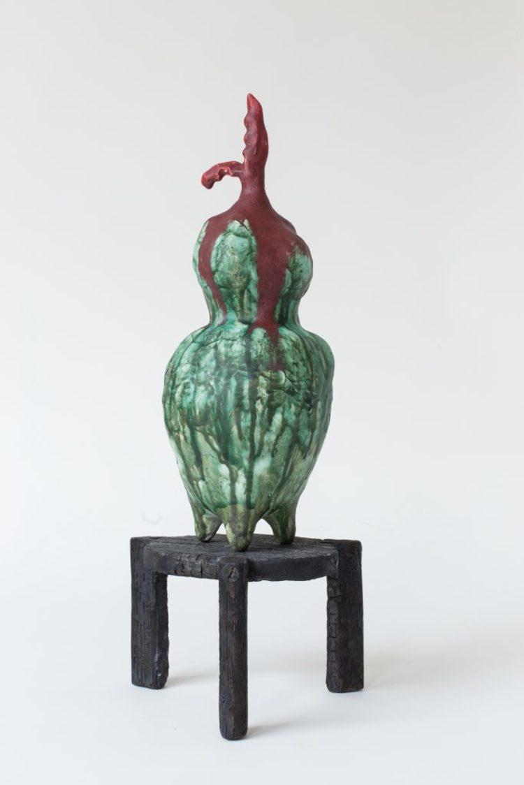 'Frukten', 2018, ett konstverk av Sara Möller