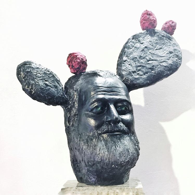 'Nopal', 2017, ett konstverk av Victor Saletti