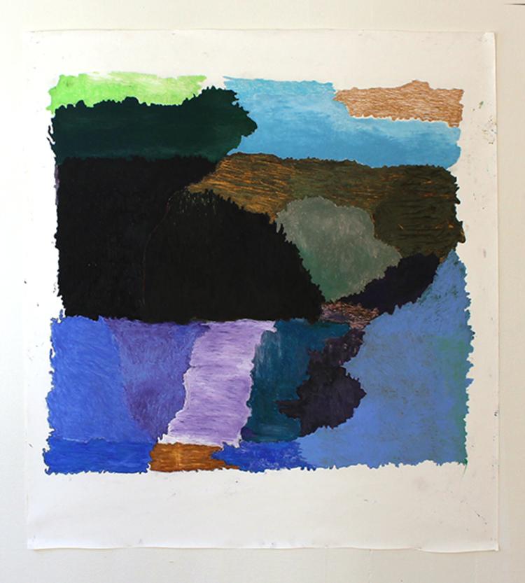 'Untited', 2018, ett konstverk av Charlotte Hellstadius