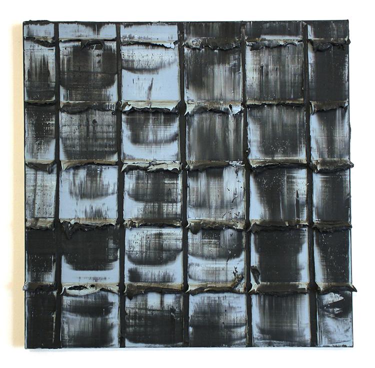 'O.01.04 (reflektioner)', 2016, ett konstverk av Thomas Henriksson